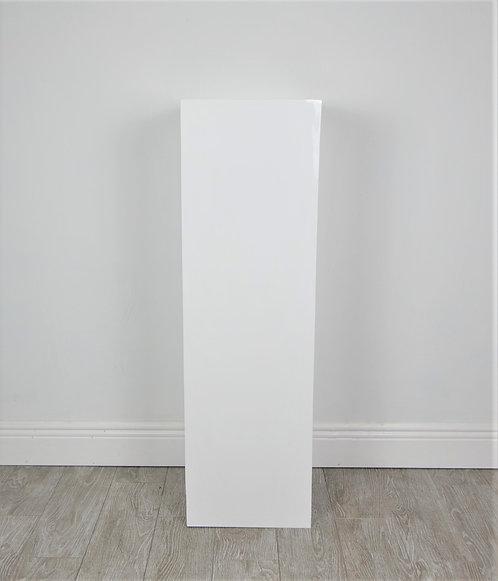 White 40 inch Plinth