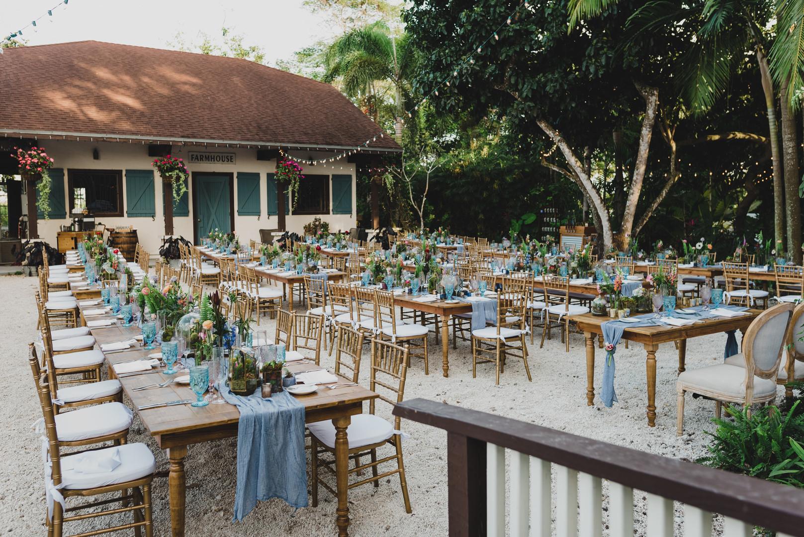 Homestead Florida wedding rentals