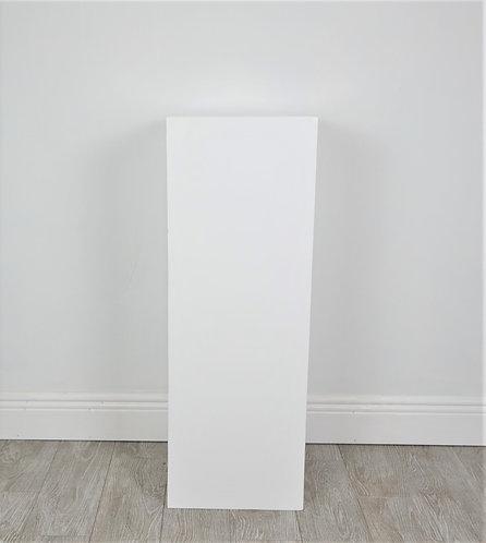 White 34 inch plinth