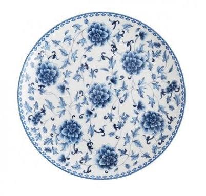 SALAD PLATE blue china