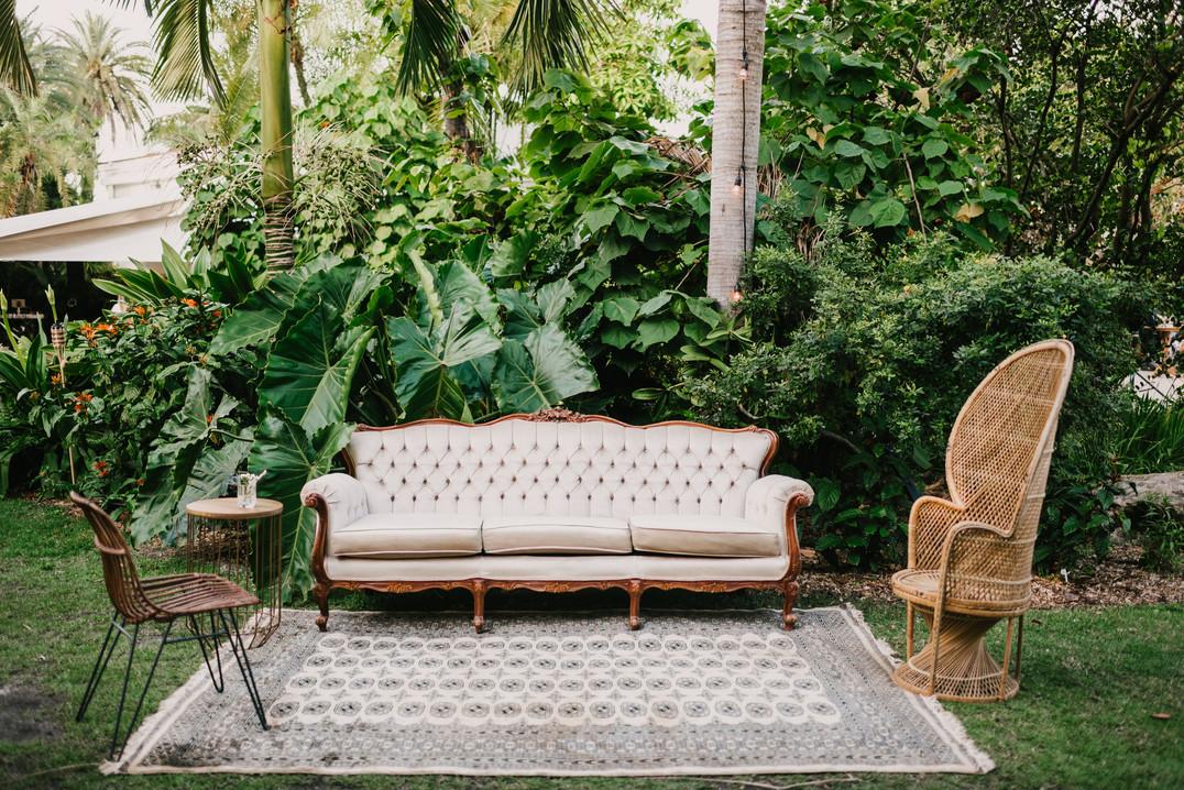 Miami event lounge furniture rental
