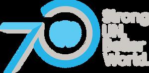 UN's 70's Anniversary logo