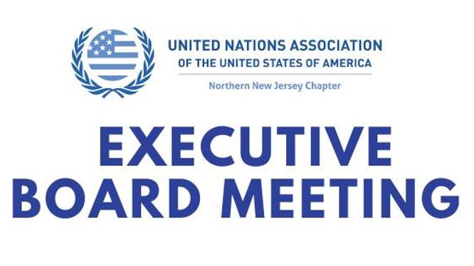 UNA Executive Board Meeting