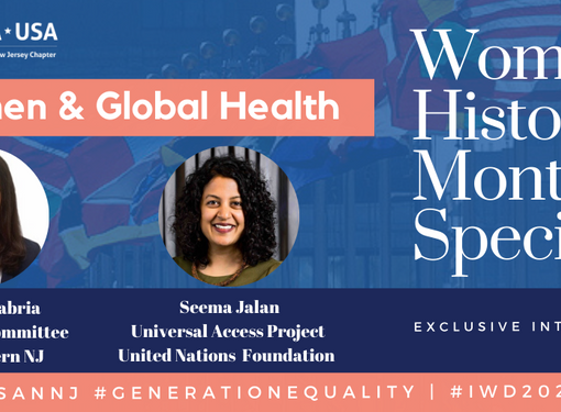 """Women's History Month Special   """"Generation Equality: Women & Global Health"""""""