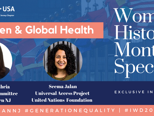 "Women's History Month Special   ""Generation Equality: Women & Global Health"""