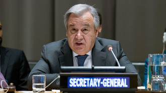 The United Nations Secretary-General Looks At The Year Ahead For The Global Body