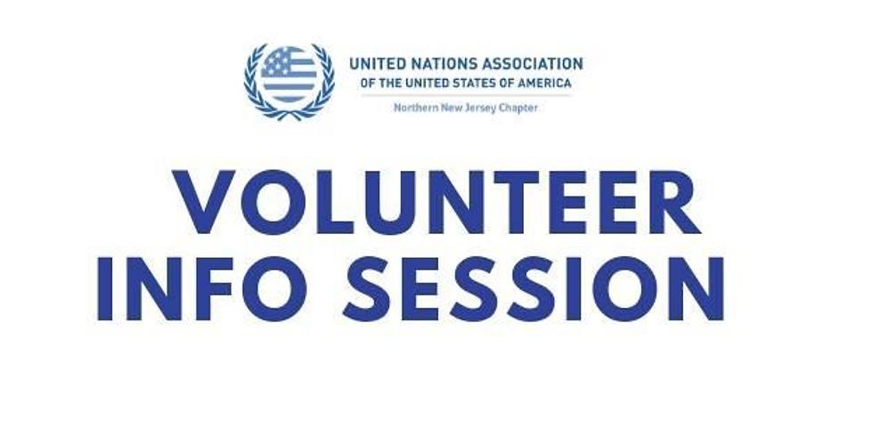 Volunteer Info Session
