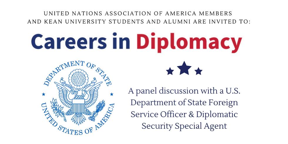 Careers in Diplomacy