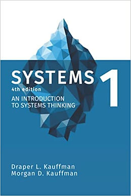 Systems 1 An Introduction to Systems Thinking