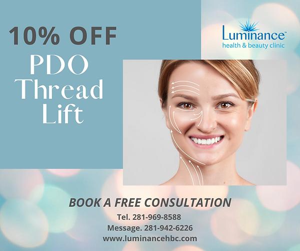 PDO thread lift - Non-surgical facelift Houston TX luminancehbc.com