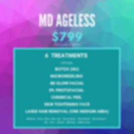 MD Ageless spa special | luminancehbc | Sugar Land TX