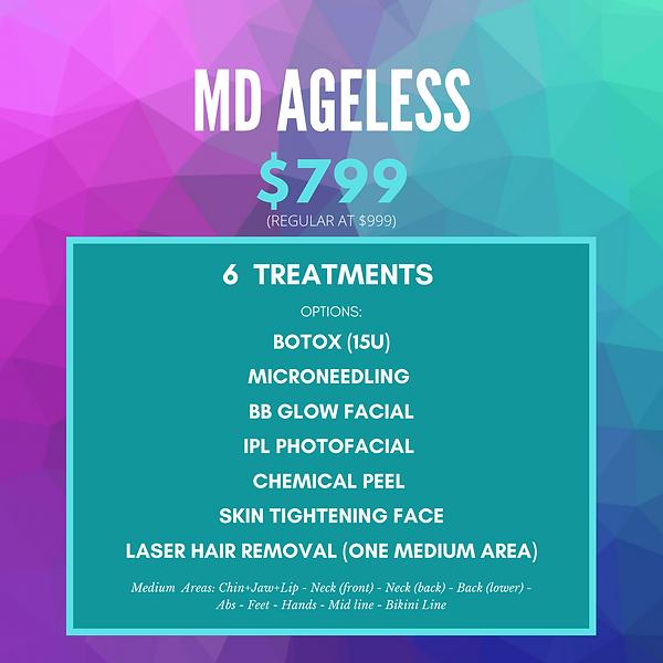 MD Ageless spa special | luminancehbc | Sugar Land TX