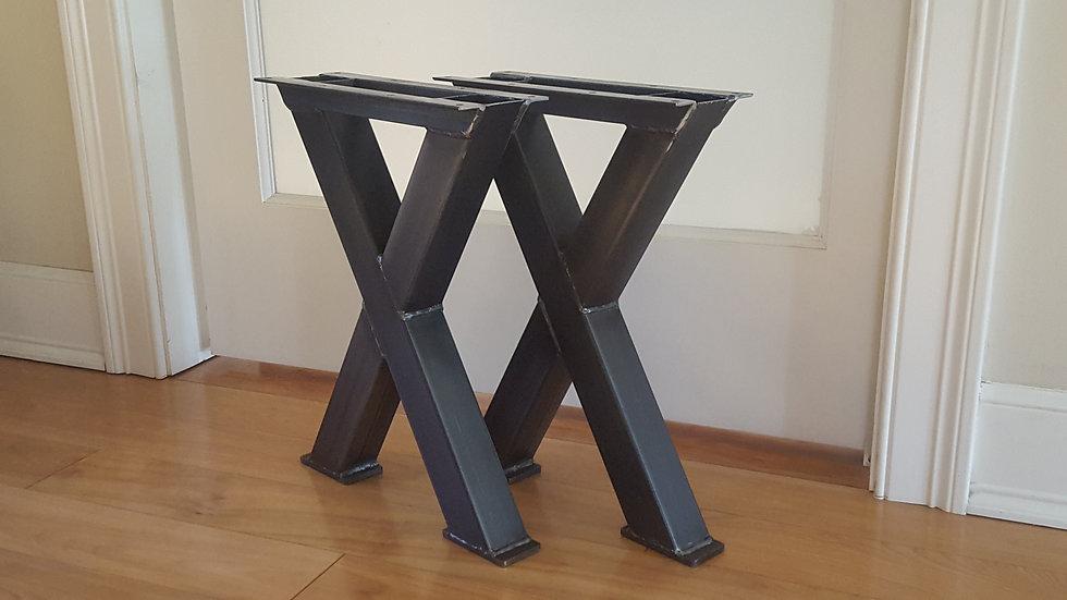 X Bench Height Legs