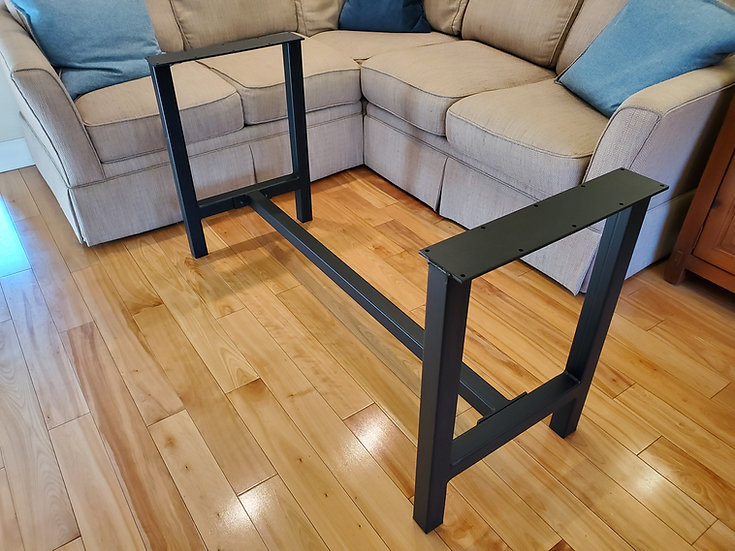 H Dining Height Legs with Cross Bar
