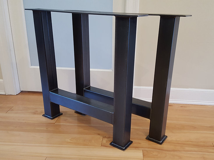 Chunky H Counter Height Legs