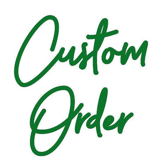 Custom - Carson - H legs - Raw Steel