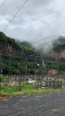 Cascadas ubicadas en la Planta Hidroeléctrica en la comunidad de Ixtapantongo