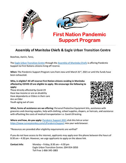 AMC - EUTC First Nation Pandemic Support