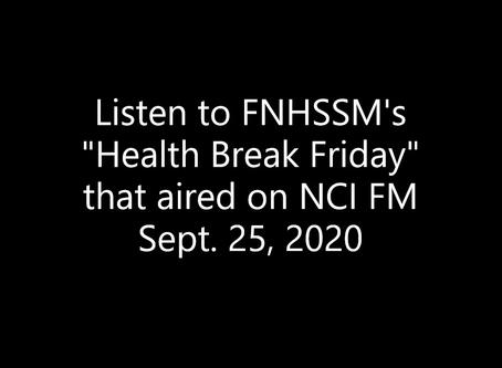 FNHSSM on Fridays