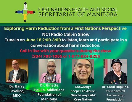 FNHSSM Harm Reduction Show Promo.png