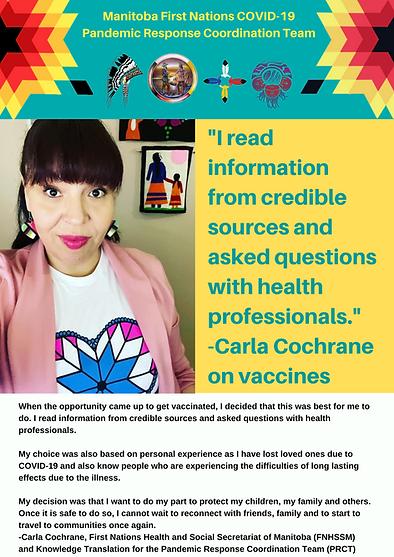 Get Vaccinated Poster - Carla Cochrane 1