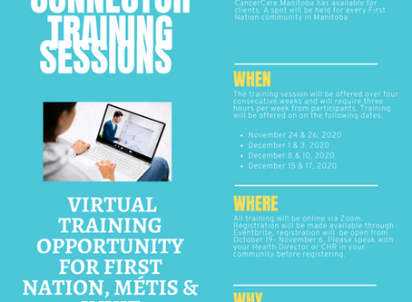 VIRTUAL TRAINING OPPORTUNITY FOR FIRST NATION COMMUNITIES: