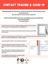 PRCT Poster- Contact tracing & COVID- 19