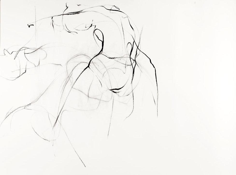 The Grey Area, 110 x 140cm inc frame