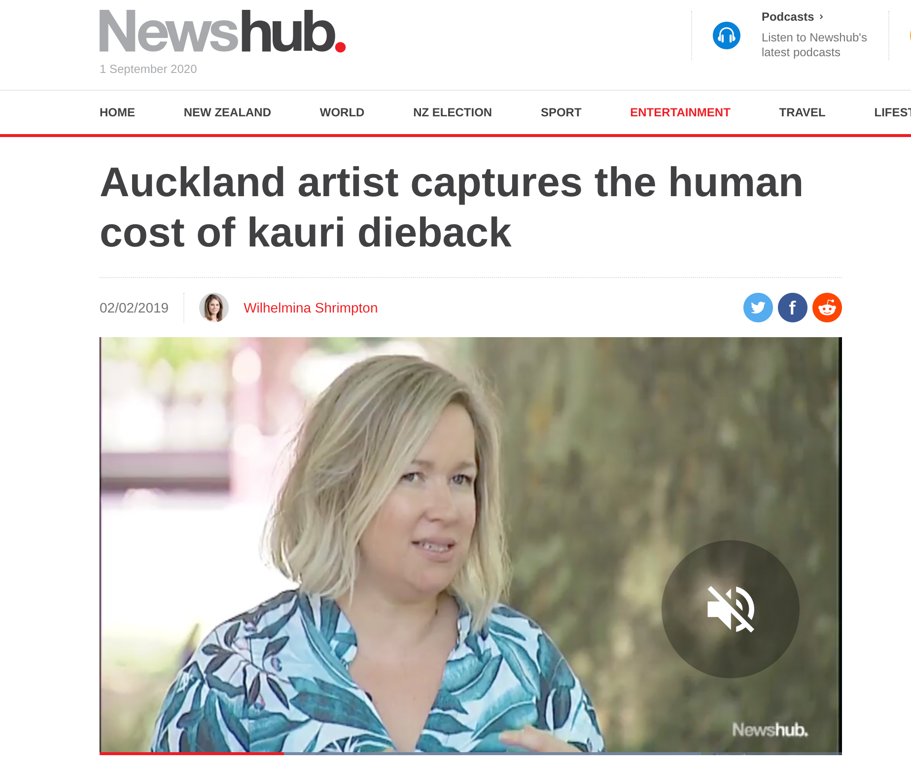 NEWSHUB INTERVIEW