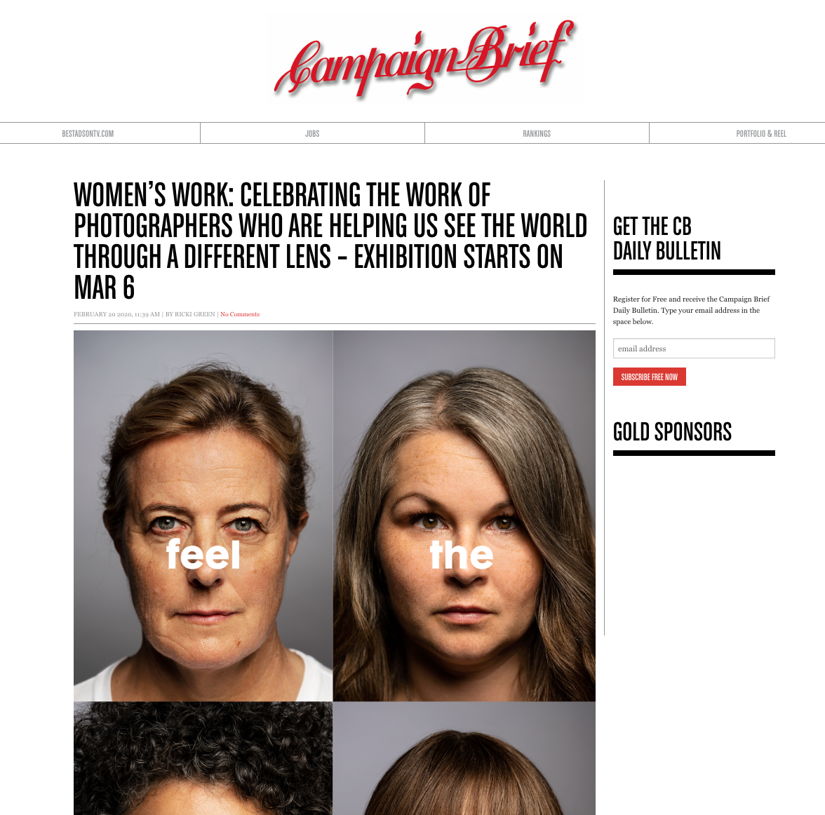 CAMPAIGN BRIEF - WOMENS WORK