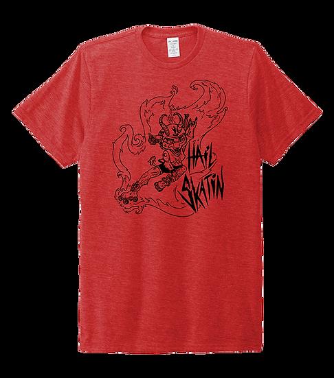 Hail Skatin Unisex T-shirt