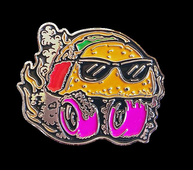 Taco Derby Pin