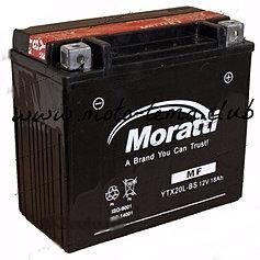 Аккумулятор для мототехники Moratti YTX16-BS-1 14Ач пр - фото 5
