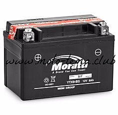 Аккумулятор для мототехники Moratti YTX16-BS-1 14Ач пр - фото 11