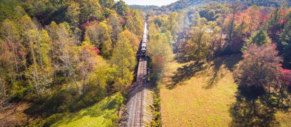 Rural Georgia surprises: Blue Ridge Scenic Railway