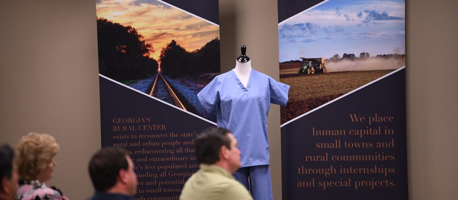 Project Update: Georgia grown cotton medical scrubs