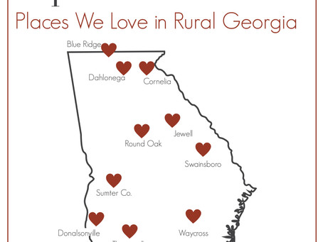 Top ten: Places we love in rural Georgia