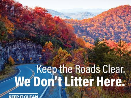 Keep it clean, rural Georgia