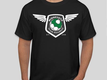 Minnesota Team Handball T-Shirt Fundraiser going on NOW!