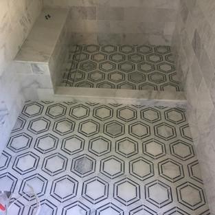 Bathroom & Shower Tiling