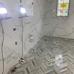 Bathroom & Shower Tiling and Remodeling
