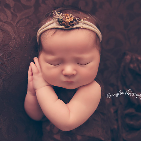 Our Newborn Session With Miss Lakely