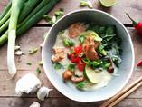 Vegetarische kippensoep