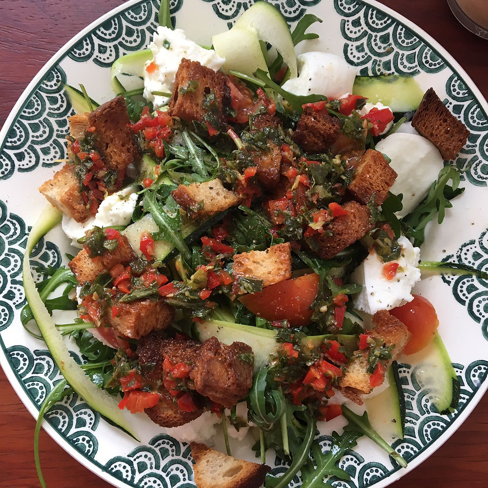 salade bij Samen Lunch & Juice