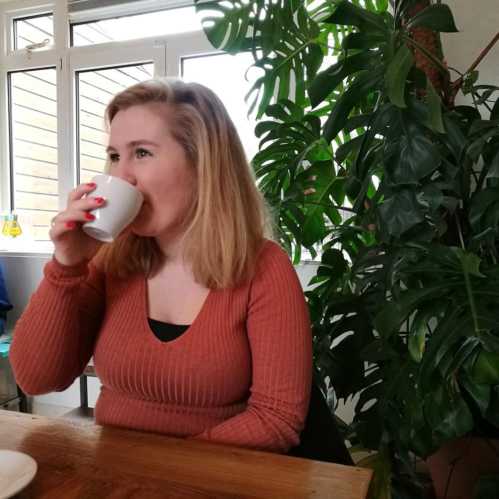 Jolijn bij Samen Lunch & Juice