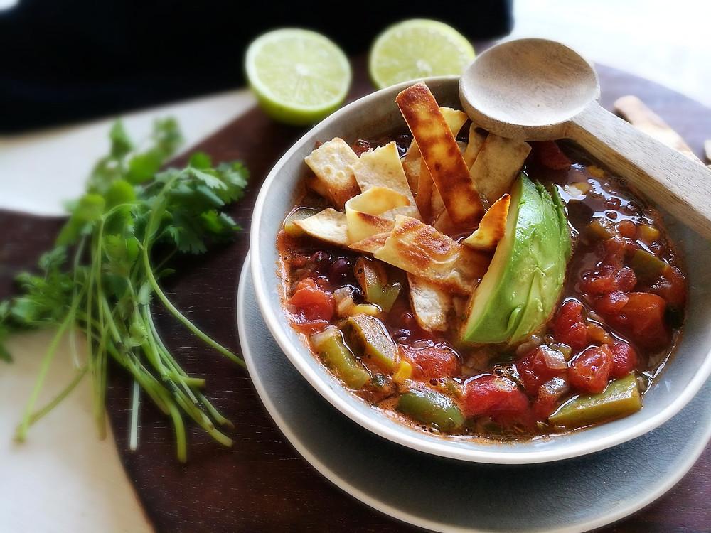Tortilla soep Nieces