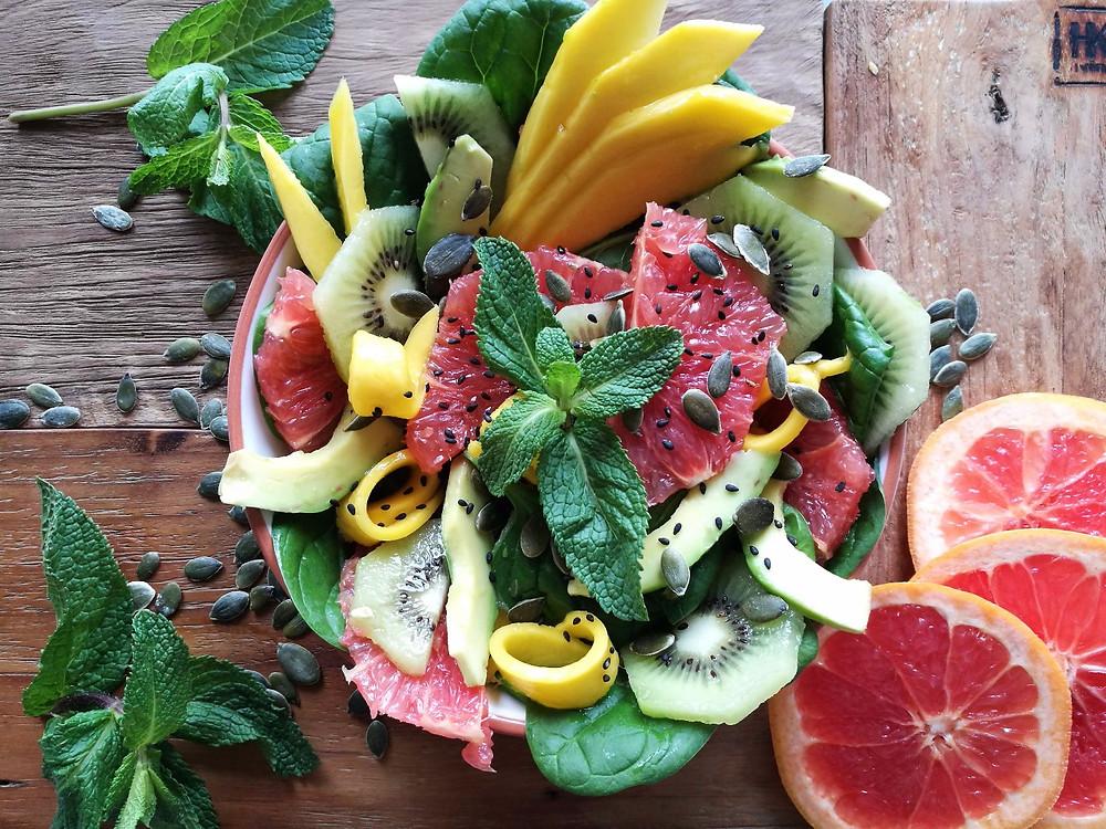 fruitsalade Nieces