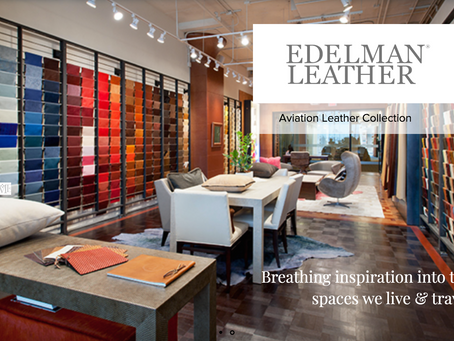 Edelman Rolls Out New Aviation Woven Leathers