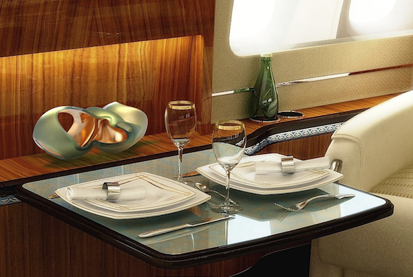 BBJ-ll  Two place dining