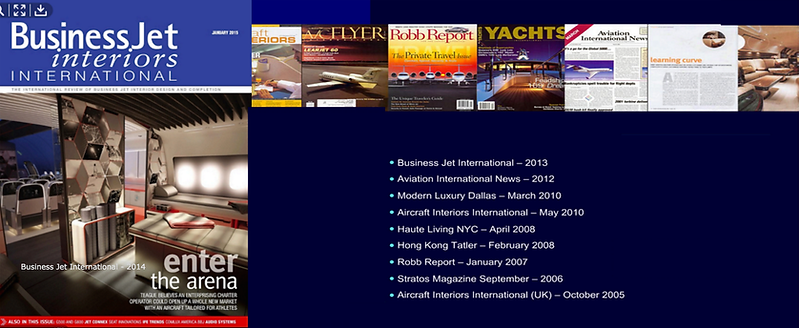 Richard Roseman Airborne Design - press links